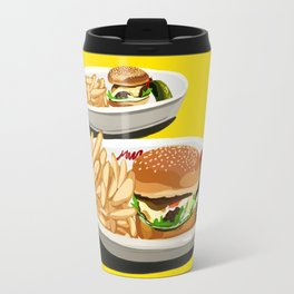Homemade Cheeseburger Travel Mug