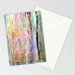 Colorful Bohemian Abstract 1 Stationery Cards