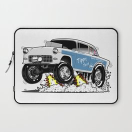 55 Classic Chevy - Tippy Toes Laptop Sleeve