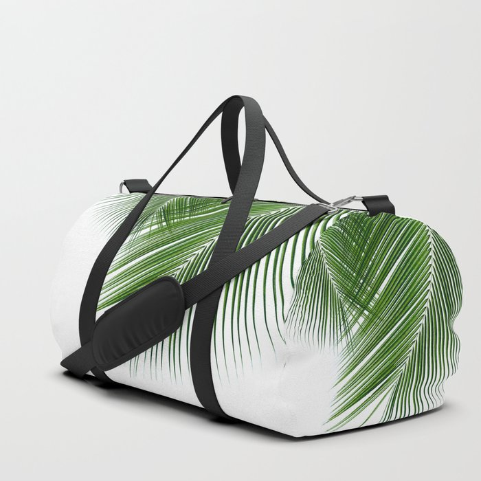 Delicate palms Duffle Bag