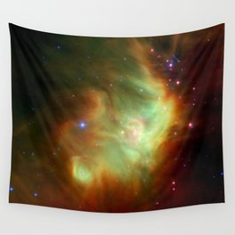 The Perseus Nebula (NASA's Spitzer Space Telescope) Wall Tapestry