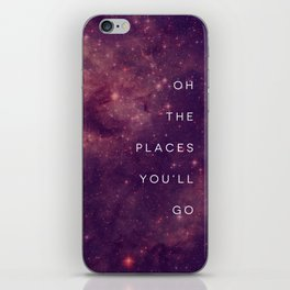 The Places You'll Go I iPhone Skin