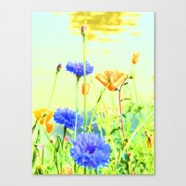 Textured Summer Canvas Print