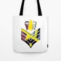 general Tote Bags featuring Fixie General by Pedlin