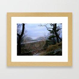 Love Bridge Threshold Framed Art Print