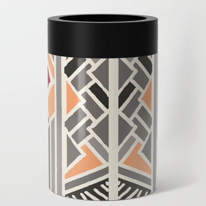 Tribal ethnic geometric pattern 034 Can Cooler