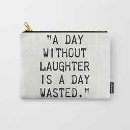 Nicolas Chamfort quote about laughter Carry-All Pouch