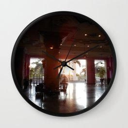 """The New Arrival"" Wall Clock"