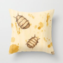 Palmettos Throw Pillow