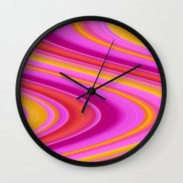 Sherbet Heaven Wall Clock