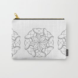 Pearled Mandala 2 Carry-All Pouch