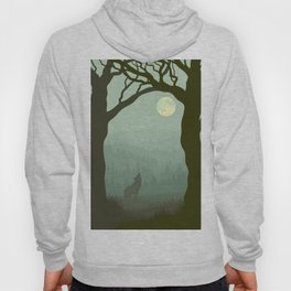 wolf forest Hoody