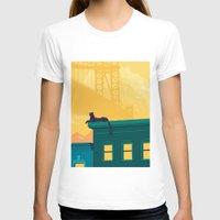 urban T-shirts featuring Urban jaguar by Roland Banrevi