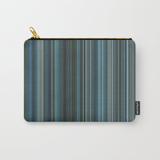 Blue lines 2 Carry-All Pouch