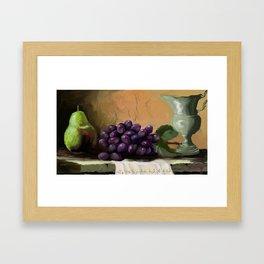 TABLE GRAPES Framed Art Print