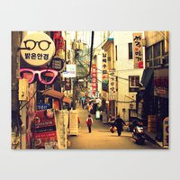 seoul Canvas Prints featuring Seoul #1 by Gallery Jin