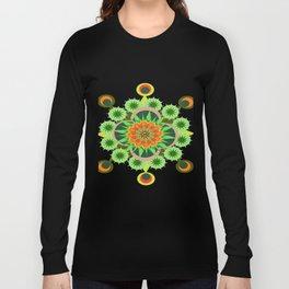Star mandala pattern Long Sleeve T-shirt