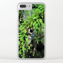 In High Regard- vertical Clear iPhone Case