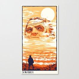 Sun River Canvas Print