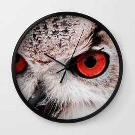 Wise eyes !! Wall Clock
