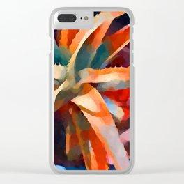 Candelabra Aloe Clear iPhone Case
