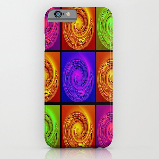 Abstract Collage Art iPhone & iPod Case