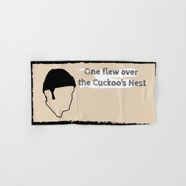 One flew over the Cuckoo's Nest Hand & Bath Towel