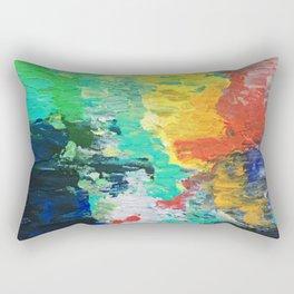 Bad Mood Rising Rectangular Pillow