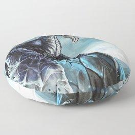 Frost Dragon Floor Pillow
