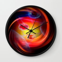 Abstract perspective Wall Clock
