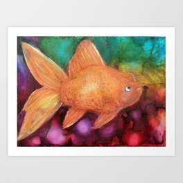 Sea of Color Art Print