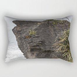 Pancake rocks New Zealand Rectangular Pillow