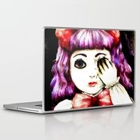 doll Laptop & iPad Skins featuring Doll by Kennedy Vacca