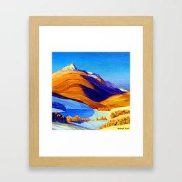 Rockwell Kent Vermont Study Framed Art Print