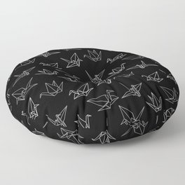 Paper cranes Floor Pillow