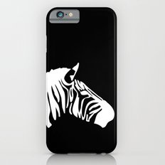 Black-White Zebra iPhone 6s Slim Case