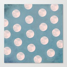our moon Canvas Print