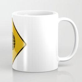Death Star Crossing Coffee Mug
