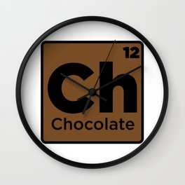 Chocolate Element Wall Clock