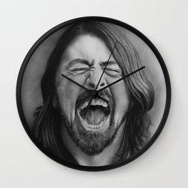 Dave |Graphite Pencil Wall Clock