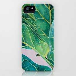 Ficus lyrata iPhone Case