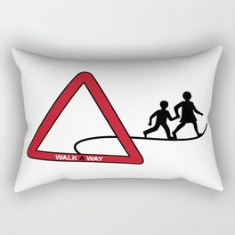 walkAway Rectangular Pillow