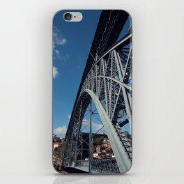 Dom Luís I Bridge in Porto (Portugal) iPhone Skin