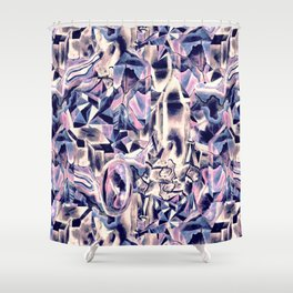 Crystal Shower Curtain