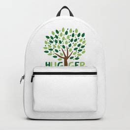 Tree Hugger design Planting Trees Eco Friendly Tee Backpack