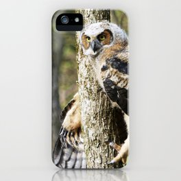Tree Hugger iPhone Case