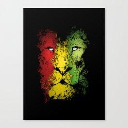 lion of zion Canvas Print