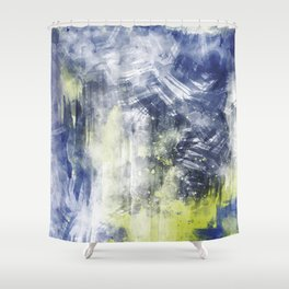 ABSTRACT ART Dream of Paint No. 008 Shower Curtain