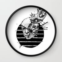 picasso Wall Clocks featuring Picasso by Benson Koo