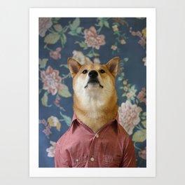 MWD: The Chambray Shirt Art Print